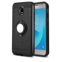 alcatel kickstand fällen großhandel-Für LG Aristo 2 K10 2018 K30 G7 Stylo 4 Samsung Galaxy J3 J7 2018 Slim Rüstung Halter Fall für Alcatel U5 5044
