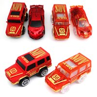 Wholesale play tracks - 1pc Electronics Race Car Toys for DIY Magic Glow in the Dark Track Children Boys Birthday Gift Boy Play Magic Together Track