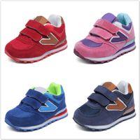 ingrosso correre lo sport netto-Primavera autunno Net bambini traspiranti Baby Boys ragazze scarpe antiscivolo bambini Sneakers Toddler Shoes Running Shoes