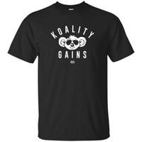 maschine für t-shirt druck großhandel-Benutzerdefinierte gedruckt Shirts Rundhalsausschnitt Calum Von Moger Motivation Fitness T-Shirt Kurz Druckmaschine T-Shirts für Männer