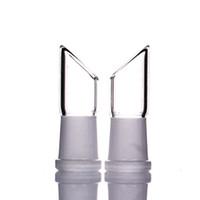 14,5 mm dişi eklem toptan satış-Üretici mini cep 14.5mm cam kubbe cam su borusu cam bong kadın eklem için kullanın