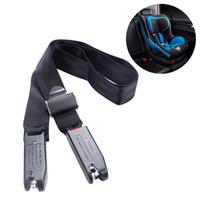 tiras de segurança venda por atacado-Assentos de Segurança para Crianças de Carro cinto de Segurança Geral Correia de Dispositivo de Fixação Do Assento de Carro Criança para Isofix / Trava Interface