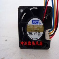 сервер вентиляторов avc оптовых-aNS All New Semi CO Free Shipping AVC DB04028B12S P141 DC 12V 0.96A 40mm case Server cpu computer cooling fans cooler radiator
