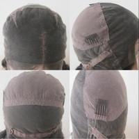 medya insan toptan satış-insan saçı peruk dantel kap, orta boy, büyük boy, kaliteli, ücretsiz kargo