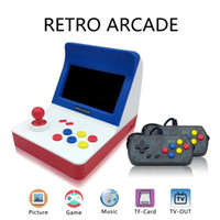 Wholesale retro gaming online - A8 Retro Arcade Game Console Gaming Machine With in Classic Games Supporting TF Card Expansion Gamepad Control AV Out quot Screen