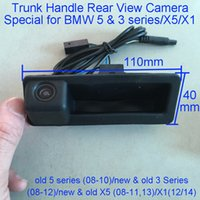 Wholesale car camera bmw x5 for sale - Group buy Rear View Camera Car Reverse Back Boot Trunk Handle Camera Special for BMW series X5 series X1 X6 E39 E90