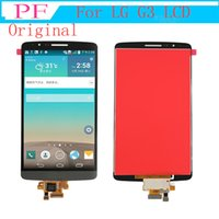 Wholesale screen digitizer for lg g3 for sale - Group buy 5 inch Original LCD Display For LG G3 D850 D851 D855 VS985 LS990 LCD Display Touch Digitizer Screen Assembly