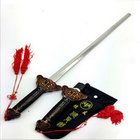 Wholesale New Hot Sale Chinese Martial Arts Kung Fu Tai Chi Sword Retractable Practice Training Performance Outdoor Sports Toy Best Gift