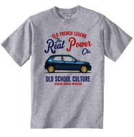 französische automarken großhandel-VINTAGE FRENCH CAR RENAULT WILLIAMS CLIO - NEUE BAUMWOLLE T-SHIRT Männer Baumwolle T-Shirt Bedruckte T-Shirt Marke Stil Kurzarm