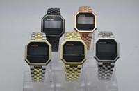 kadın dijital saatler toptan satış-LED Dijital İzle Moda erkek Saatler Benzersiz Kadınlar Kol Saati Elektronik Spor Saati reloj hombre relogio masculino