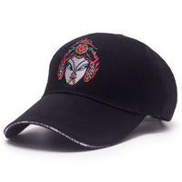 Wholesale Original Hats Wholesale - Original Face Embroidery Male Ladies Baseball Caps Chinese Wind Cotton Baseball Cap Outdoor Shade Sun Hat Adjustable Hip Hop Hat
