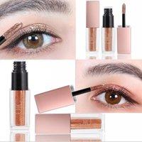 Wholesale 24 color eyeshadow for sale - Group buy 2018 Charming QIC Eyeshadow High Gloss Diamond Brighten Waterproof Shiny Eye Shadow Liquid Color Hours Moisturizing Lasting