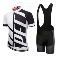 Wholesale cool harness - Black and white unilateral letters new summer cool breathable short sleeve harness suit outdoor professional cycling suit