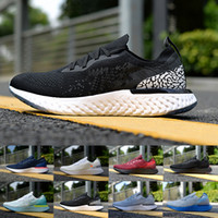 flies off lights 2018 - Cheap Epic React Instant Go Fly Off Women Men Running Shoes White Black Grey Blue Red Outdoor Causal Sports Sneaker Size US5.5-11
