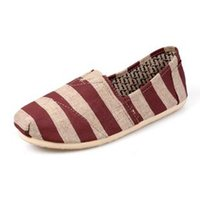 Wholesale american classic shoes - Hot Brand New European and American style Women casual canvas shoes Classic canvas shoes Women flats