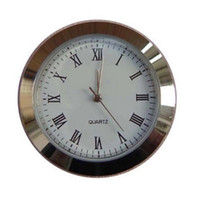 uhrzeiger großhandel-Mini-Einsatz Legierung Runde Uhren Kunst Handwerk Kristall Quarz Spiegel Uhr Zeiger Römische Mumerals Uhr Zubehör Hohe Härte 6ya jj
