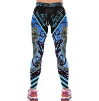 Wholesale cute cat pants for sale - Group buy Digital print sports pants female Cute Cat Halloween pants Fabric name Lycra fabric ingredients polyester fiber spandex S M L XL