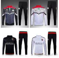 chaquetas de hombre al por mayor-15-16-17 Palestina traje de entrenamiento Jerseys de alta calidad uniforme ropa deportiva 15 16 Hombres traje de entrenamiento de fútbol Chándales chaquetas Fútbol Entrenamiento