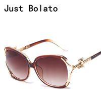 Wholesale fox sunglasses resale online - New Fashion Sunglasses Women Brand Designer Channel Sun Glasses Luxury Black Vintage Cat Eye For Lady Gold Fox UV400 gafas sol
