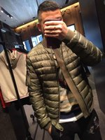 ingrosso giubbotto giovane giù-2018 Originals Store Top Luxury Designer di lusso M561 Army Green Down Anatra Cappotti Outwear Uomo Giacche Young Men Sports Warm Coat M-3XL