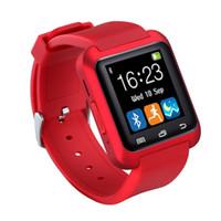 u8 смарт-часы для мужчин оптовых-2017 Smart Watch U8 Женщина / Мужчина Спорт Bluetooth SmartWatch Фитнес-Трекер для Android IOS Телефон ПК Apple Watch GT08 DZ09 U80