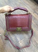 filzkupplung großhandel-Damentaschen von 2018 Luxus-Tasche Klassische limitierte Auflage Krokodil-Textur Hochwertig Weiches Gefühl Bolsos Mujer Clutch Weibliche Tasche
