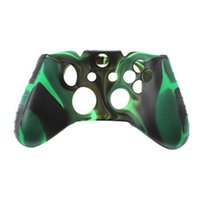 Wholesale xbox one controller rubber grip for sale - Group buy For Xone Soft Silicone Flexible Camouflage Rubber Skin Case Cover For Xbox One Slim Controller Grip Cover