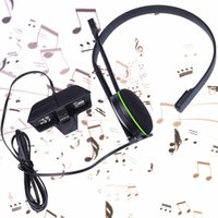 Wholesale Headphones Line Microphone - Mayitr 1pc Wired Chat Gaming Headset 120cm Line Lightweight Headphones With Microphone For Microsoft Xbox One