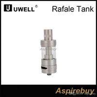 Wholesale tank tc resale online - Uwell Rafale Sub Ohm TC Tank ml Capacity mm Diameter Top Fill Method Dual Adjustable Airflow RBA Unique Parallel Coil Design Origina