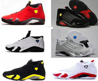 Wholesale size 13 14 - 2018 Free shipping basketball shoes 14 mens Indiglo Oxidized Green Thunder Black Toe Cool Grey mens sneaker sport shoes size 8-13