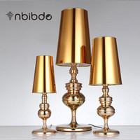 lâmpadas de mesa de casamento venda por atacado-Modern Breve Espanhol Defender Quarto Candeeiro de Mesa Moda Candeeiro de Mesa Luz Sala de estar luzes de Casamento