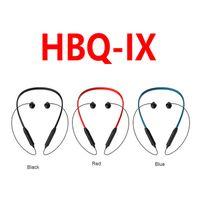 Wholesale Earphone Design - Original HBQ IX Wireless Headphones With Magnetic Design Soft Headband 75mAh Bluetooth Headphones Portable Sports Earphones Better Bluedio
