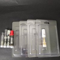 Wholesale Clamshell Wholesale - Retail Packaging Plastic Clamshell Clam Shell Blister Packing for 1.0ml Vape Oil Cartridges 92A3 G2 th205 Vapor Packaging 510 Cart Packaging