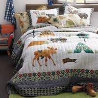 одеяло ручной работы оптовых-Качество хлопка дети покрывало одеяло Набор 3 шт. покрывало стеганые постельные принадлежности ручной работы одеяла покрывала Королева размер мягкое одеяло