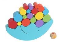 yığın oyunu toptan satış-Ay Dengesi Oyunu Set İstifleme Silindir Blokları Çocuk Çocuk Eğitim Ahşap Oyuncaklar