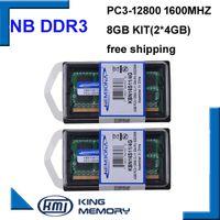 Wholesale 8gb ddr3 ram laptop - Cheap RAMs KEMBONA LAPTOP DDR3 1600Mzh 8GB (Kit of 2 4GB ) DDR3 PC3-12800s 1.5V So-DIMM 204Pins Memory Module Ram