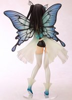 Wholesale Anime Batman Toy - Action Figure TONY Bishoujo Yotsunoha Heroine CHN Collection Peace Keeper Daisy Butterfly 25cm PVC Doll Collectible Model Anime