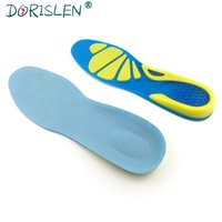 Wholesale clogs for men resale online - Silicone Gel Insole Orthotic Sport Running Insoles For Men And Women