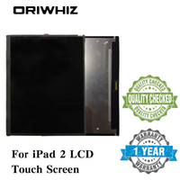 Wholesale For iPad Tablet LCD Screen Display Touch Assembly High Quality Tested without Homebutton and Glue Repair Replacement