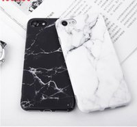 Wholesale for squishy resale online - Imd Marble Stone Gel Case for Apple iPhone s Plus s SE X Cases Black White Soft Tpu Squishy phone Case Cover Coque