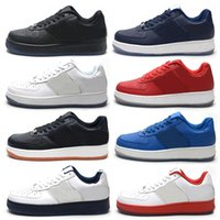 Wholesale air f - 2018 Fashion Street Hip Hop Sneakers Air Men Low Top Shoes Top Quality Skateboard Sneakers F or Men US7-11 1