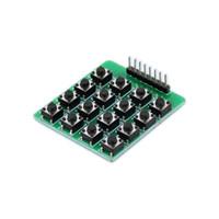 kohleschichtwiderstandskit großhandel-Plug-in-Taste / 4 * 4-Matrix-Tastatur / 16 Tasten / Single-Chip-Erweiterung Tastaturmodul
