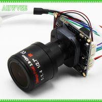 модуль cctv ip оптовых-AHWVSE lowest Illumination Sony IMX326 5MP 1080P IP Camera Board cctv security camera Module with 2.8-12MM lens 3MP