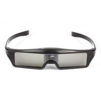 enlace de dlp gafas de obturador al por mayor-La última versión de SCLS KX-30 3D Cristales Active Shutter 96-144Hz para DLP-Link 3D Ready Proyectores