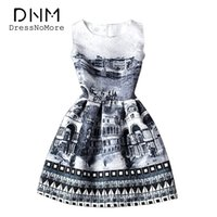 Wholesale Teen Knee Length Party Dresses - Teen Girl Dresses Summer Casual Sleeveless Flora Printed Kids Dresses for Girls Clothes Party Princess Dress Vestidos