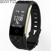 Wholesale bluetooth fashion bracelet - Fashion Health GIMTO Smart Bracelet Watches Bluetooth Led Digital Android Iphone Sport Smart Watch Waterproof Swim Diving Clock
