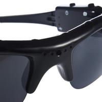 высококачественная видеокамера оптовых-Stylish Audio Video Recorder Light-weight DVR Sunglasses Camera High Quality Mini DV Video Recorder TF Mini Eyewear For Adult