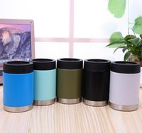 Wholesale good cup - Good Quality New Arrival 12 oz Stainless Steel Mugs Can Mugs Cars Beer Mug Insulated Koozie 12oz Cups in Stock