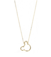 Wholesale mickey for sale - Three Color Option Cute Choker Mickey Head Pendant Necklace Women Gift Fashion Jewelry