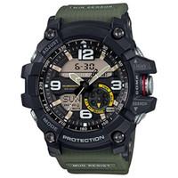 relogios relógios digitais venda por atacado-G G1000 G G1000 G G1000 de alta qualidade dos homens funções do termômetro relógio cronógrafo LED chocante toda a função de trabalho relógios à prova d 'água